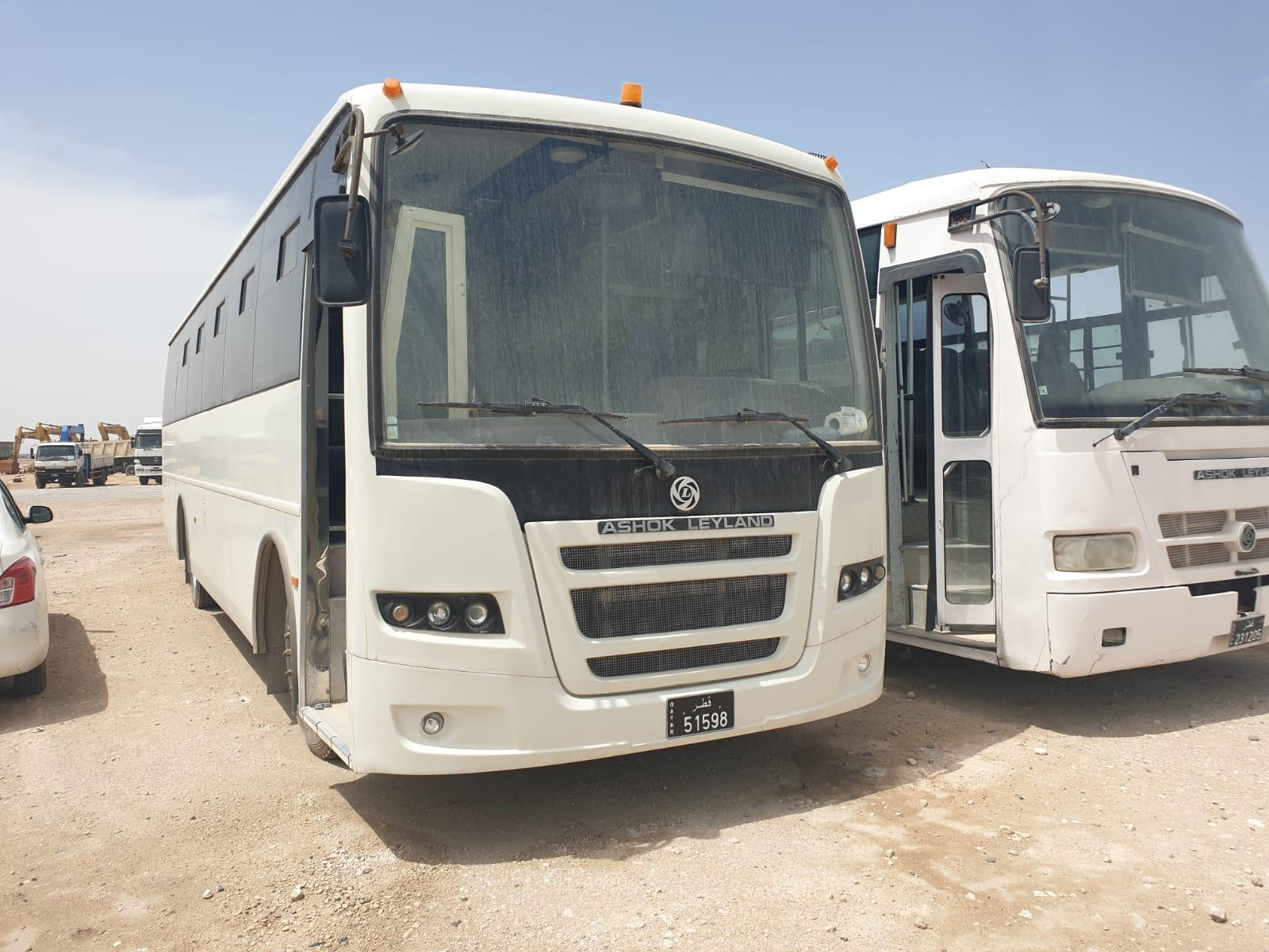 66 seater  bus for sale and rent tata and ashok