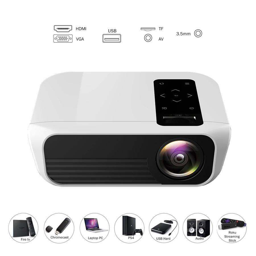 T8 Full HD Projector HDMI USB 1080p LED Home Theat