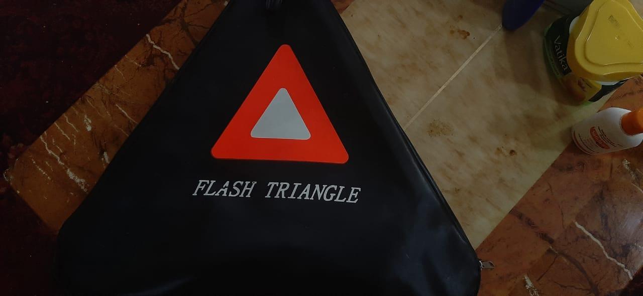 Triangle Reflector Unused
