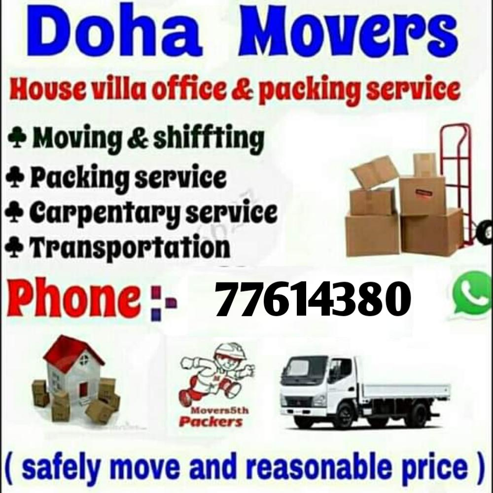 Awesome price Moving & Shifting all over qatar. 24