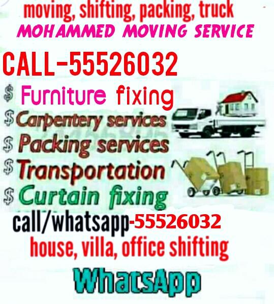 Please call/WHATSAPP:55526032. Low Price Moving sh