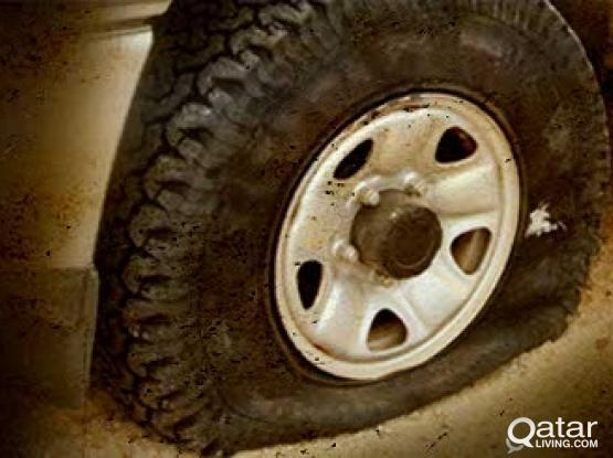 Mobile tyre puncture Service call 30041241