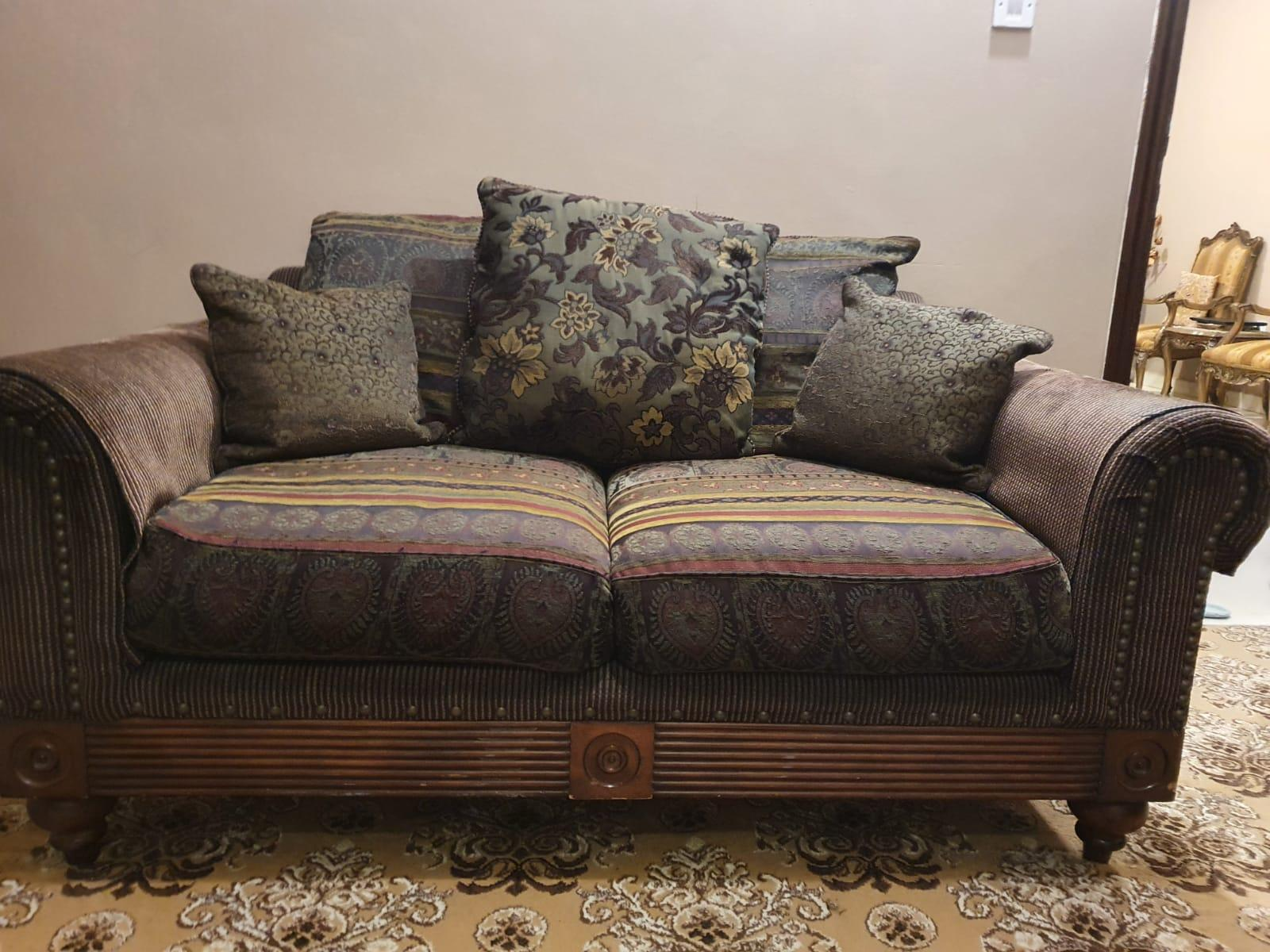 Sofa Set 7 Seater (3+2+2) from Home Center for Sal