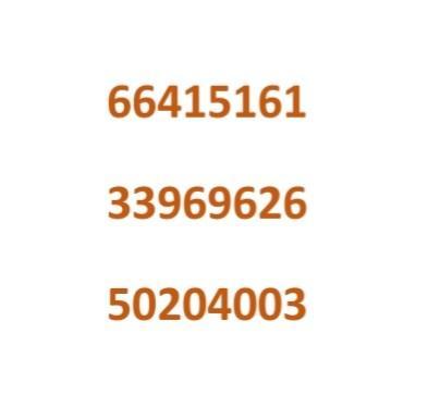 66 41 51 61 Ooredoo Hala prepaid Number For 500 QR