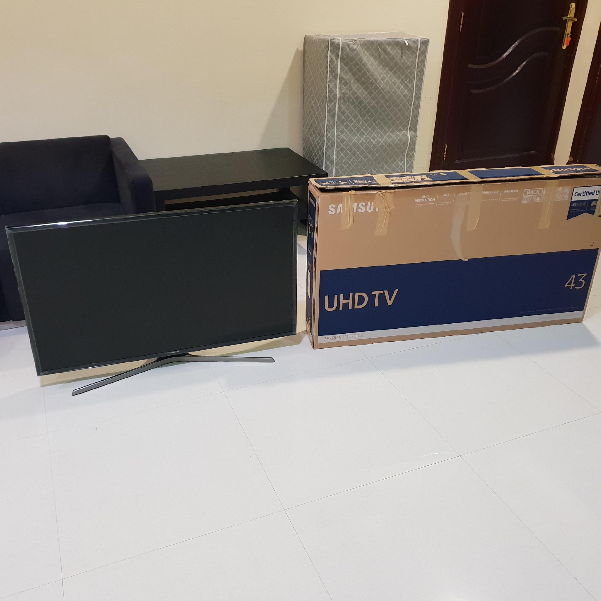 Samsung UHD TV 43 inches