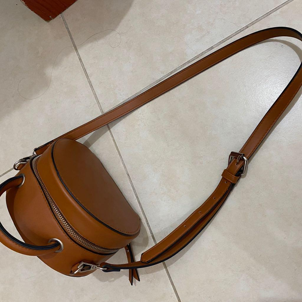 Zara Bag & Stradivarius Brown Bag