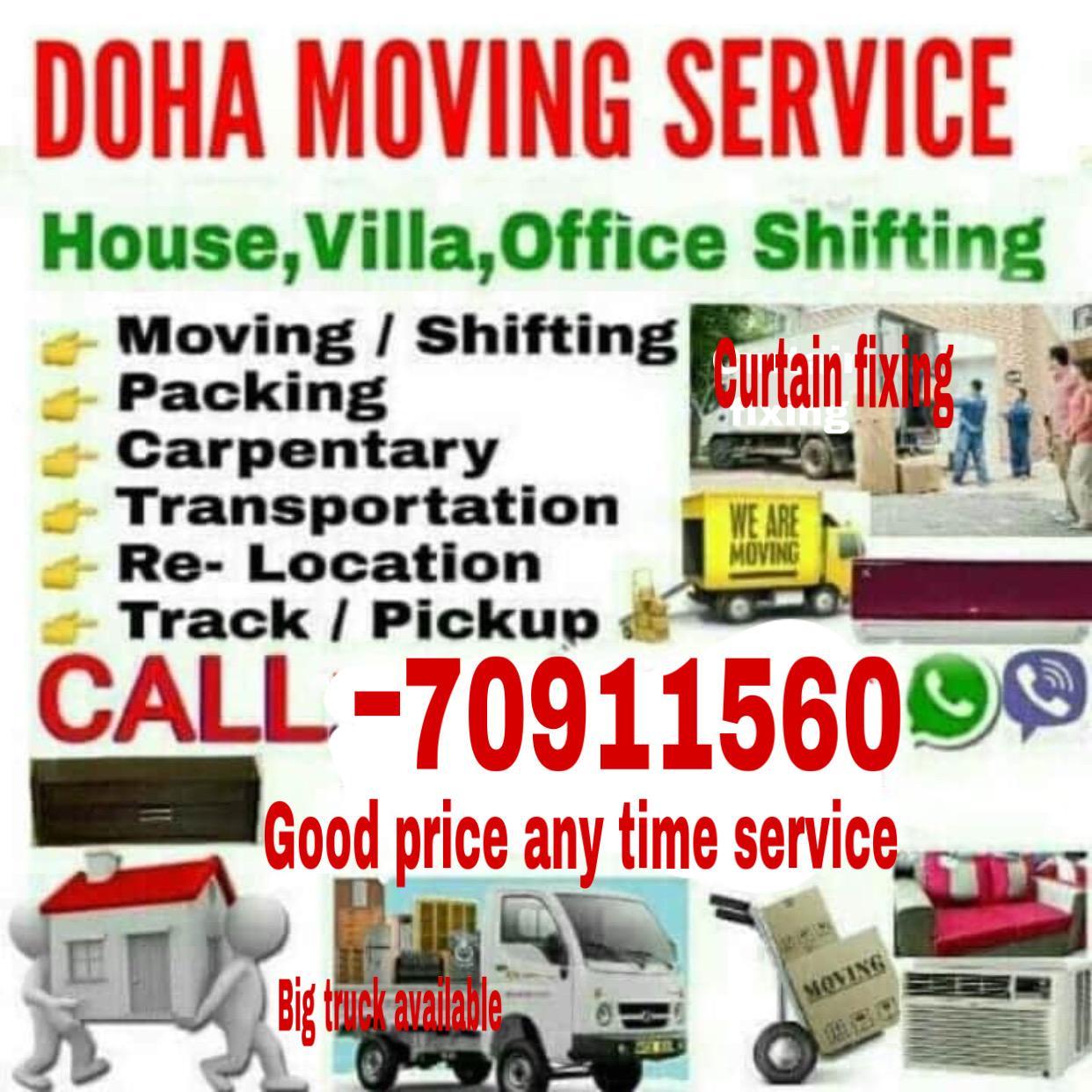 Good Prices -Moving/Shifting/Carpenter transport
