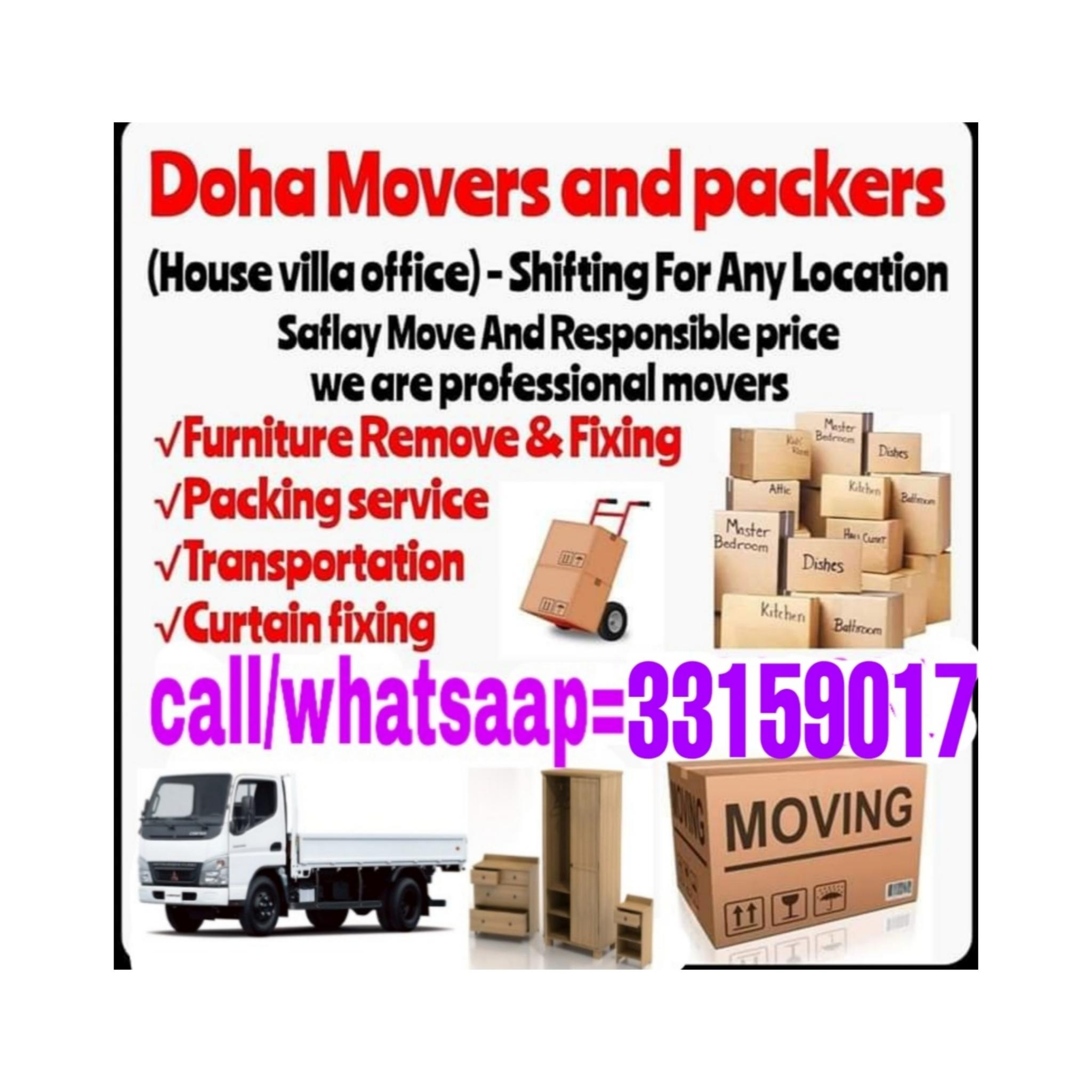 Moving and Shifting all over Qatar. Good price and