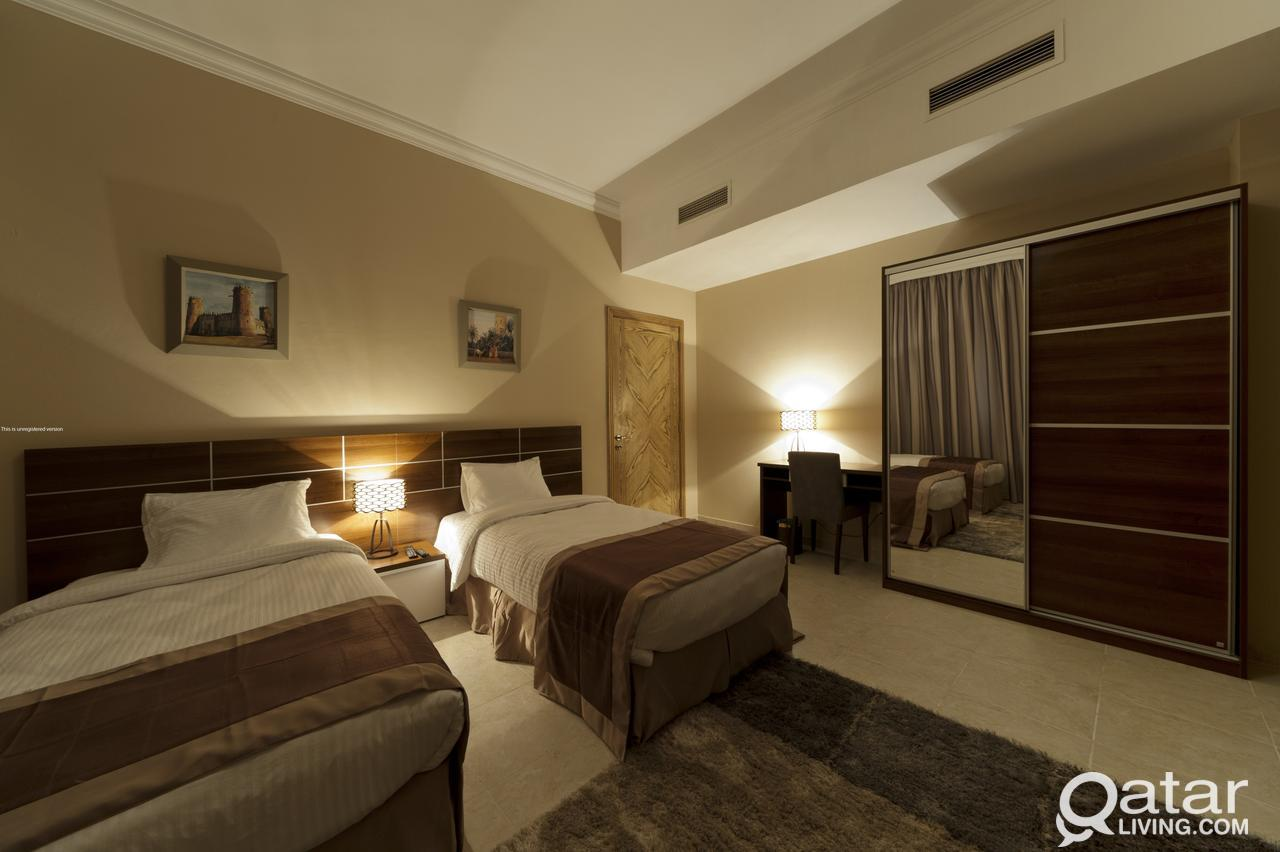 Furnished 3 Bed 5 Star Hotel Long Or Short Stay (I