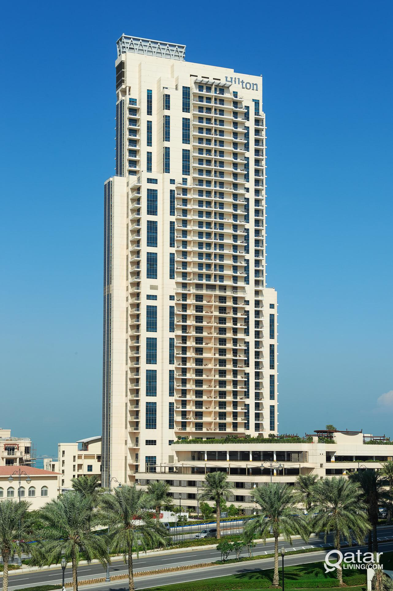 Hilton The Pearl, 1 Bedroom Deluxe