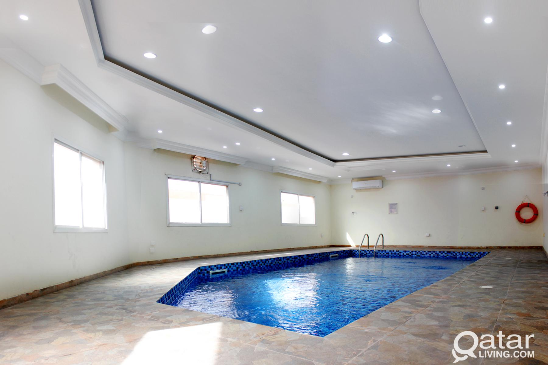 FF 1BHK w/ Pool+Gym (including W/E + FREE Internet