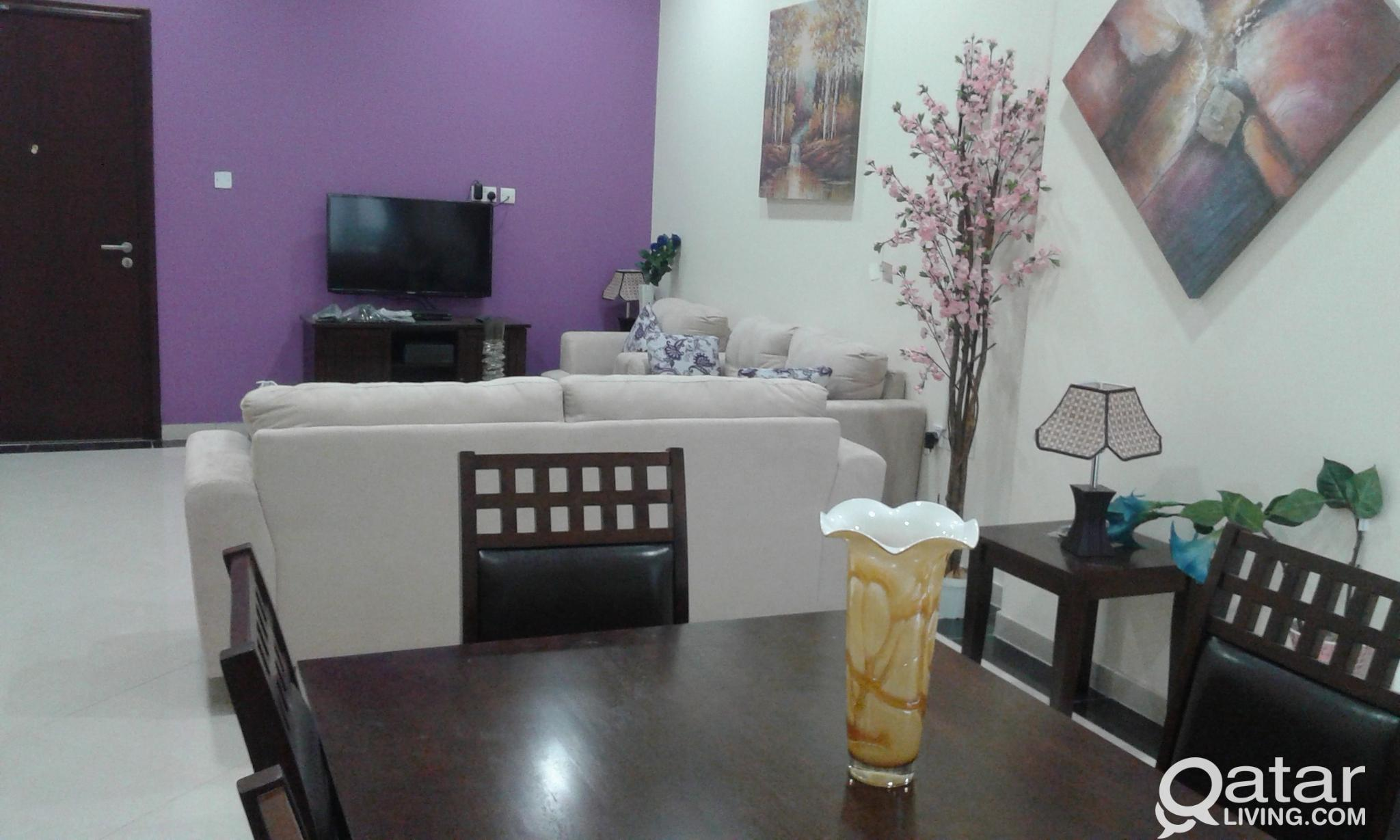 2 BHK  furnished apartments  in Wakra