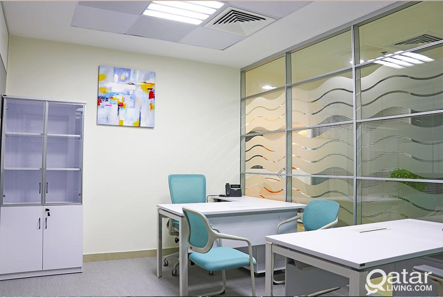 Looking for premier serviced offices   & professio