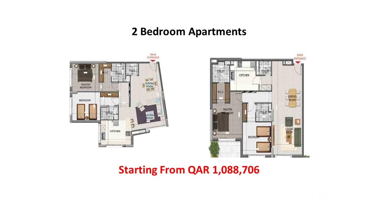 Great Opportunity! Brand New Flats in Lusail for s
